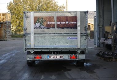 Gestort brandhout - 1m³ halfdroog hardhout